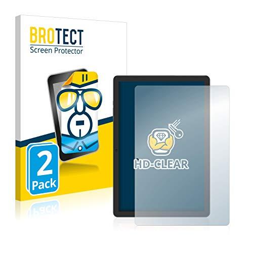 BROTECT Protector Pantalla Compatible con Vankyo MatrixPad Z4 Protector Transparente (2 Unidades) Anti- Huellas
