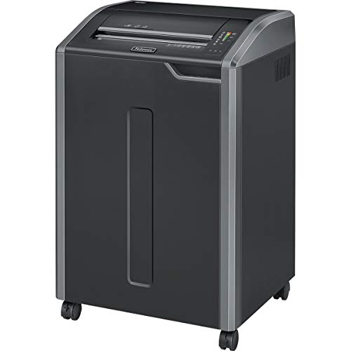 Read About Fellowes Shredder - Cross-Cut - 0.156 in x 1.125 in - P-4