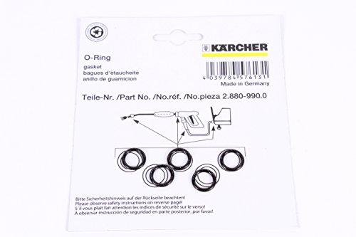 Karcher 2.880-990.0Lot de 5Joints toriques de Rechange