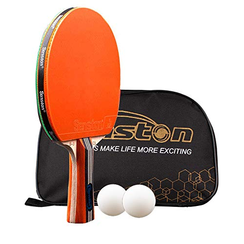 Senston Ping Pong Racket  1 Table Tennis Paddle 2 Ping Pong Balls S3C3