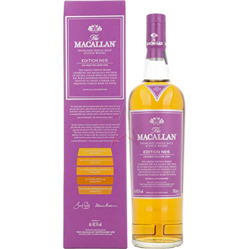 Whisky - The Macallan Edition Nº5 70 cl