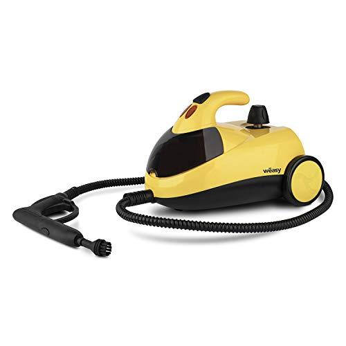 Winkel NVP15 Hochdruck Dampfreiniger / 1,5 L Wassertank / mit Zubehörpaket / 4 bar / 1500 W / gelb/schwarz