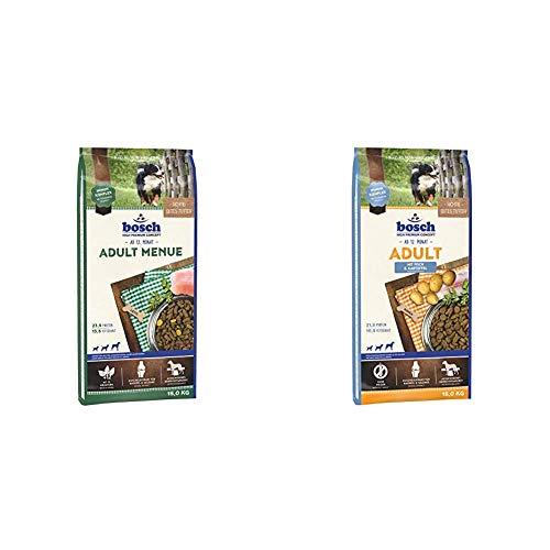 Bosch HPC Adult Menue   Kroketten-Mix für ausgewachsene Hunde Aller Rassen, 15 kg & t Fisch & Kartoffel   Hundetrockenfutter für ausgewachsene Hunde Aller Rassen, 1 x 15 kg