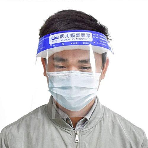 Visera protectora para la cara (10 unidades), transparente