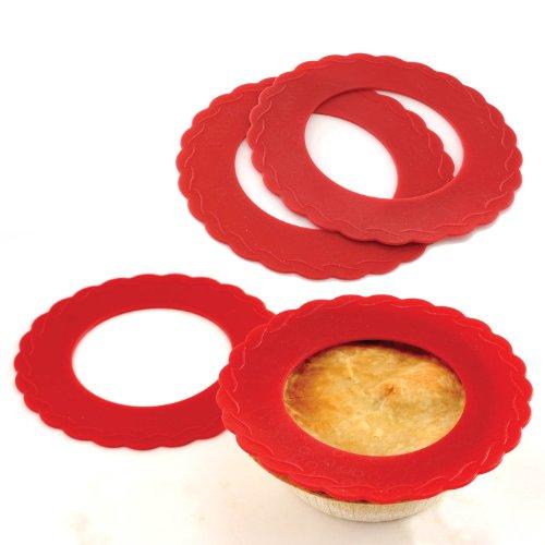 Norpro Silicone Mini Pie Pan Shields,