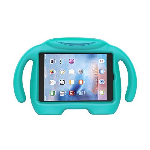 LEDNICEKER Kids Case for iPad Mini 1 2 3 4 5 - Light Weight Shock Proof Handle Stand Kids Friendly for iPad Mini, Mini 5 (2019), Mini 4, Mini 3rd Generation, Mini 2 Tablet -Turquoise