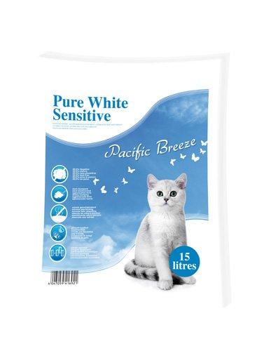Europet Bernina 447–416921Litière pour Chat Pure White Sensitive Parfum Pacific Breeze,...