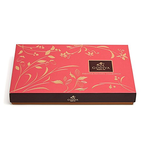 Product Image 4: GODIVA Chocolatier Assorted Gift Box Chocolate Cookie, Covered Biscuit