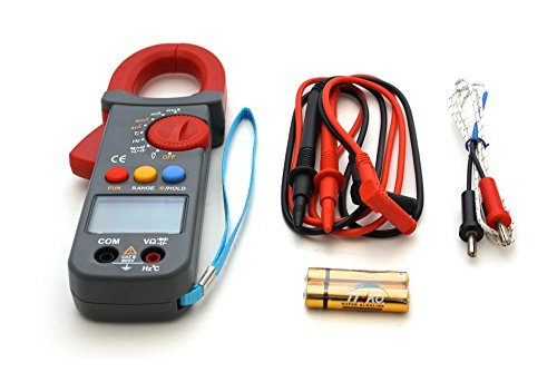 AC/DC Stromzange Zangenmessgerät Digital Multimeter Zangen Messgerät Clampmeter