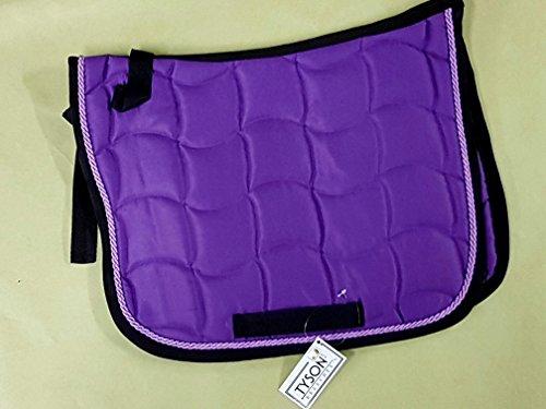 Purzl Schabracke Minishetty Mini Shetty Falabella Rot Rosa Braun Lila Satteldecke Sattelunterlage klein Tysons (Minishetty, Lila)