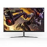 Prechen Monitor Gaming 27 Pulgadas,Full HD 1920x1080 pixeles,IPS,144 Hz,Puerto VGA / HDMI,Brillo inteligente/menos luz azul/marco ultrafino,negro