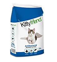 Kitty Friend Antibacterial is the perfect litter for pet. Best-quality care and health for cats. The antibacterial action s safety and hygiene in the litter box.