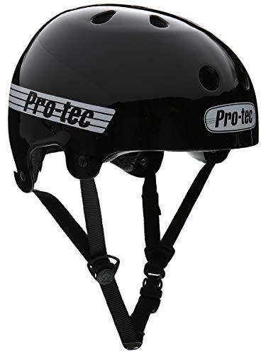 PRO-TEC(プロテック) OLD SKATE (オールドスケート) ヘルメット BMX&SKATE (Mサイズ,グロスブラック)