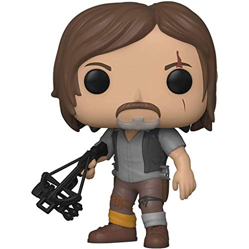 Good Buy Funko Pop Television : The Walking Dead - Daryl Dixon (Season 9) 3.75inch Vinyl Gift for Zombies Television Fans Figure