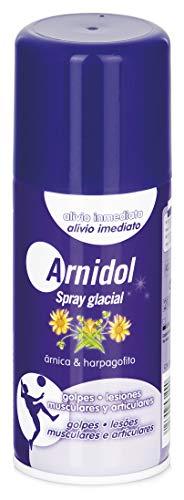 ARNIDOL Spray glacial, para lesiones y dolores musculares, bote 150ml