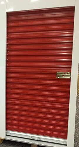 Best Bargain DuroDOORS Janus 4'x7' Self Storage 750 Series Wind Rated Steel Roll-Up Door