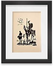 Quadro Decorativo Dom Quixote Vidro & Paspatur 46x56cm Q67