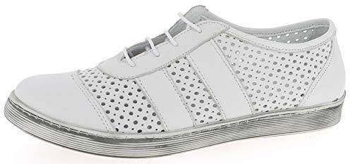 Andrea Conti 1939603, Zapatillas Mujer, Blanco (Weiß 001), 36 EU