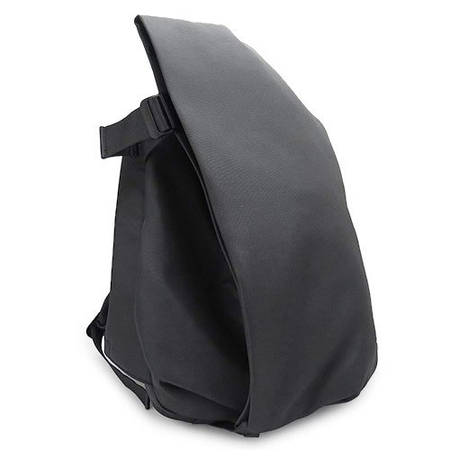 (コート&シエル)COTE&CIEL リュック 27710 BLACK Mサイズ COTE&CIEL バックパック ISAR/イザール RUCKSACK FOR 13 LAPTOPS エコヤーン ブラック [並行輸入品]