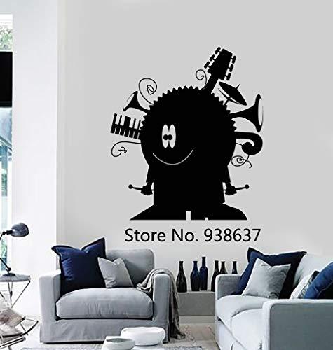 BailongXiao Rahmenlos-Kinderzimmer Wandaufkleber Hauptdekoration Wohnzimmer lustig