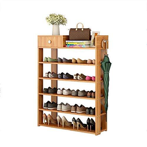 ZAIHW Zapatero con cajón Estante de Almacenamiento de Zapatos Impermeable para Pasillo y Sala de Estar (Color: 01)