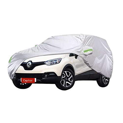 WWANG Car-Cover Renault Captur Car Spezial Car Cover SUV Thick Oxford Cloth Sonnenschutz Regen und Frostschutzmittel Warm Car Cover (Color : 2018)