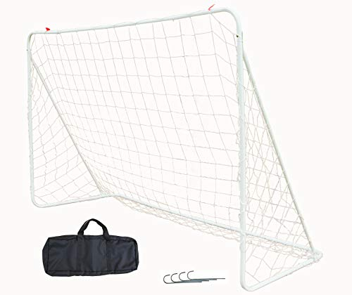 Northern Stone 6' x 4' Steel Frame Weatherproof Portable Football Goal
