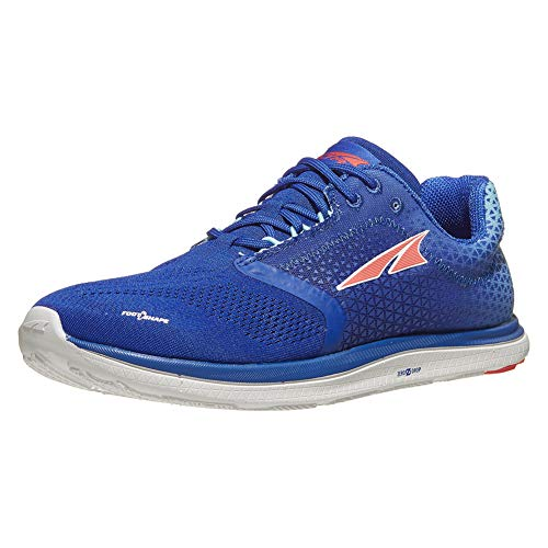 ALTRA Women's AFW1836P Solstice Road Running Shoe, Blue/Coral - 8 M US