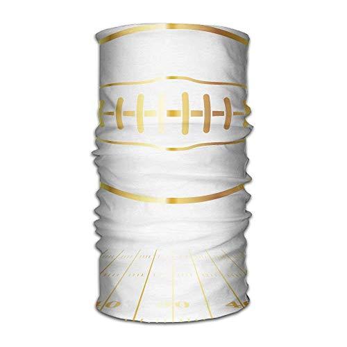Nackenwickel, Gamasche, Nackenwärmer, magisches Stirnband, Sturmhaube, Kopftuch, Bandanas, Gold American Football, Hochleistungs-Schal, nahtloses Schweißband, Feuchtigkeitstransport, multifunktional