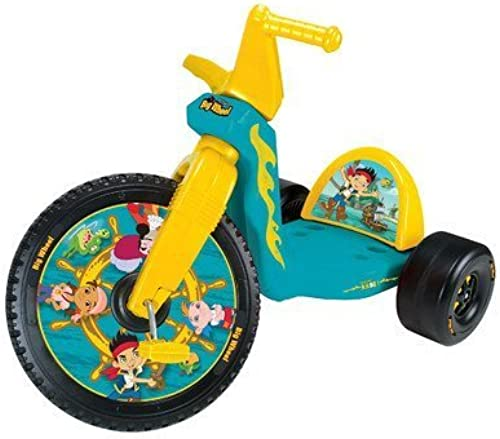 Tienda de moda y compras online. Jake and the Never Land Pirates Big Wheel Wheel Wheel Tricycle by Kids Only  a la venta