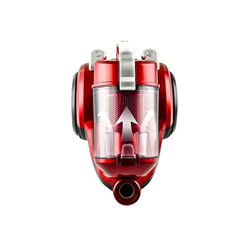 MYXMY Aspiradora, 2000w 2L de Alta Corriente de la Red Grande Aspirador Aparato pequeño, Rojo (40x28x31cm)