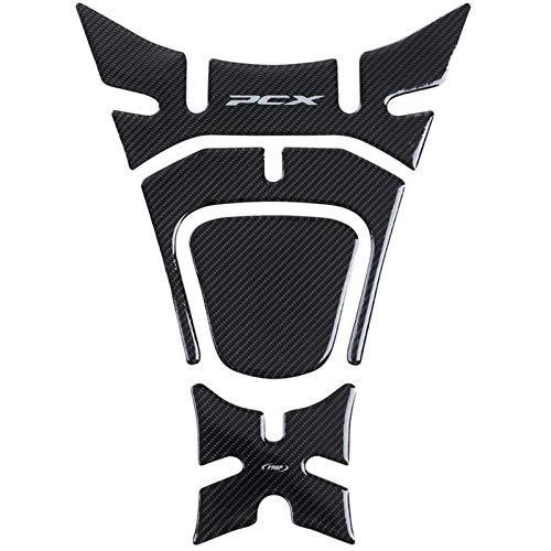 Moto deposito Protector Pad PCX 125 Paquete DE Tanque DE MOTORIA Pegatinas 5D Decoración de Fibra de Carbono Decoración for Honda PCX 125 150 PCX125 2018 2019
