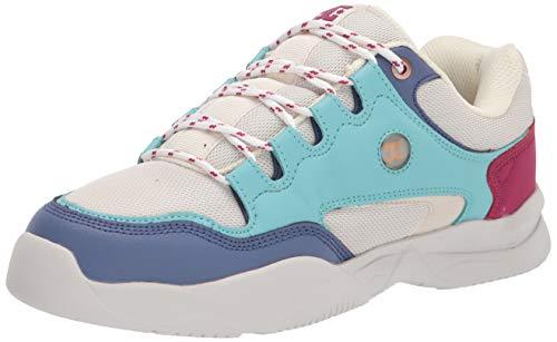 DC Women's DECEL Skate Shoe, Jade Cream, 7