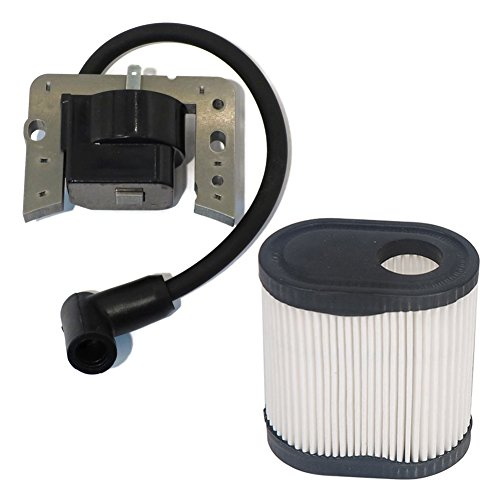 HIFROM Ignition Coil Solid State Module Replacement for Tecumseh 34443 34443A 34443B 34443C 34443D fit LEV115 LEV120 LV148A LV195EA with Air Filter 36905