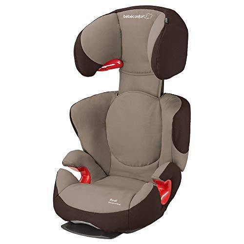 Bébé Confort Rodi AirProtect - Silla de coche para niños, alzador ligero de respaldo alto, 3.5-12 años, 15-36 kg, color marrón