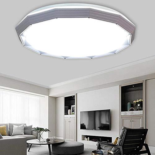 Moderne slaapkamer ronde LED plafondverlichting 36 Watt acryl lampenkap Φ50 CM 6000 karaat wit licht warme lamp woonkamer kinderkamer lamp inbouw