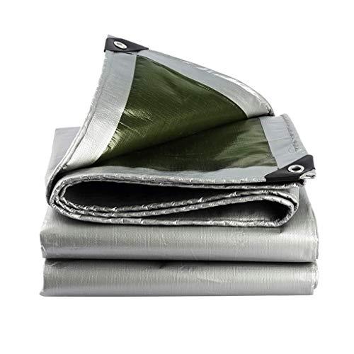 FEE-ZC Lona Impermeable al Aire Libre Lona Sombrilla Paño Protector Solar Refugio Toldo Lona Lona Impermeable (Tamaño: 6x8m)