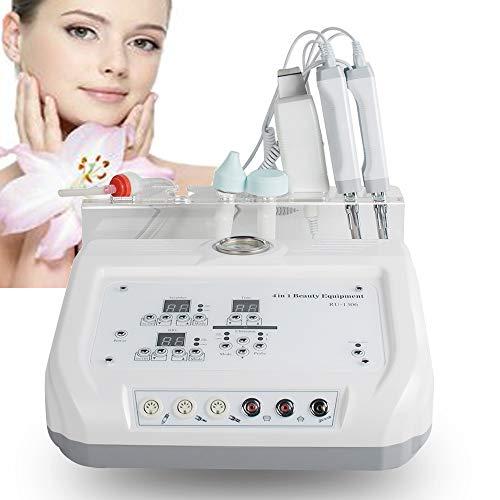 Denshine 4 In 1 Microcurrent Diamond Microdermabrasion Dermabrasion Machine Skin Scrubber Facial Skin Care Beauty Salon Spa Device for Face Skin Lift, Anti-Aging, Rejuvenation, Tightening