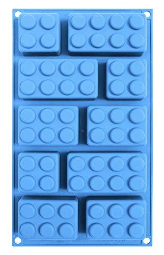 Unbekannt ScrapCooking 3160 Silikon-Backform, Blau, 32x 17,5x 3cm