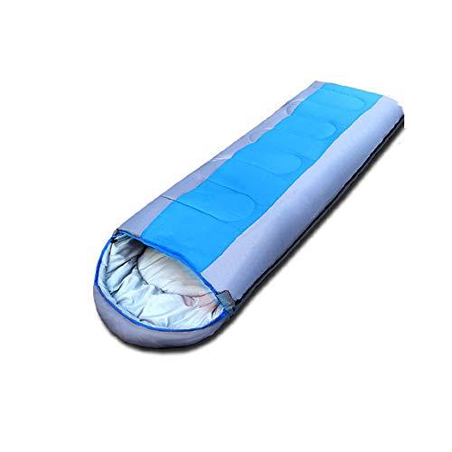 Individuele slaapzak, waterdicht comfort met compressiezak, voor 4 seizoenen reizen Camping wandelen Backpacken buitenactiviteiten