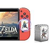 24 PCS NFC Tag Spielkarten für Die Legende Von Zelda Breath of The Wild Kompatibel mit Switch/Switch Lite/Wii U (con Estuche de Cristal)