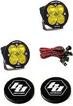 product image for Baja Designs Squadron-R Sport LED Pair Driving/Combo Amber Light Kit & Guards