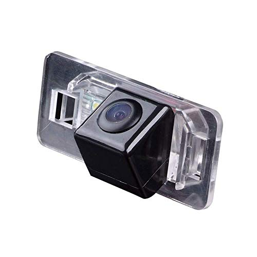 HDMEU HD Color CCD Wasserdichte Rückfahrkamera für Auto Rückfahrkamera 170° Betrachtungswinkel Rückfahrkamera für BMW 1/3/5 Seires E46 E90 E91 E92 E93 523i E60 E61 X Serie E53 E70