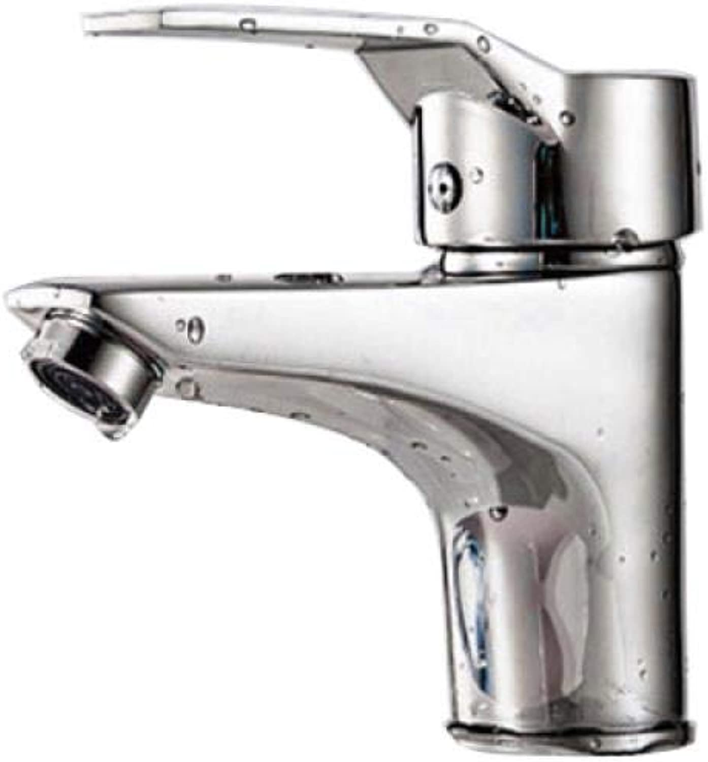 Single Hole Hot and Cold Mixed Water Wash Basin Single Handle Faucet C7822