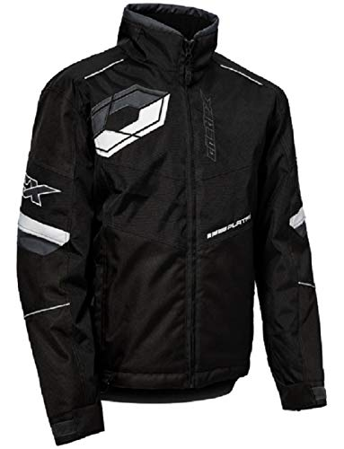 Castle X Platform G6 Sport Series Mens Snowmobile Jacket - Black - Large