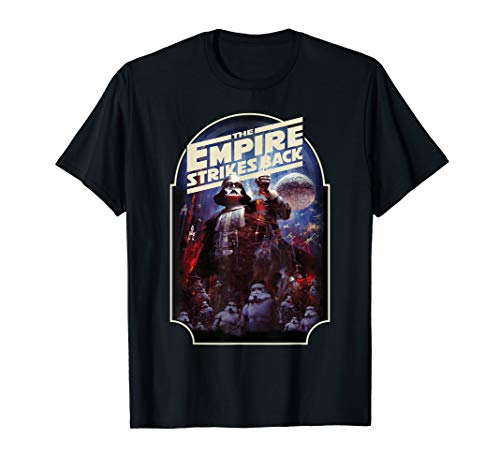 Star Wars The Empire Strikes Back Vintage Poster T-Shirt