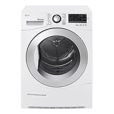 LG Electronics Uk Ltd. RC9055AP2F 9kg Load Condenser Tumble Dryer 9 Progs Heat Pump White