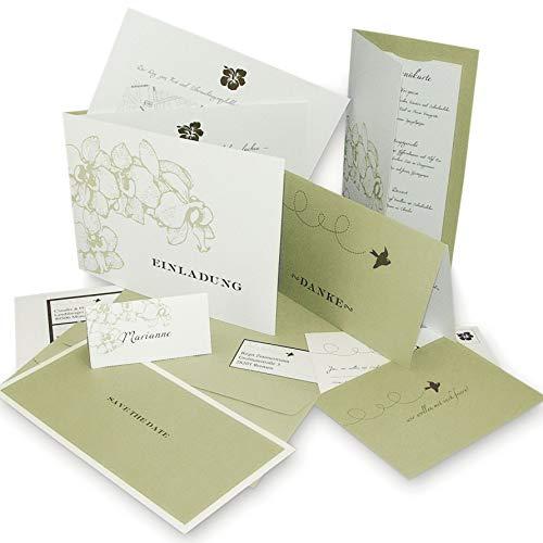 Hochzeit Einladungskarten im Set