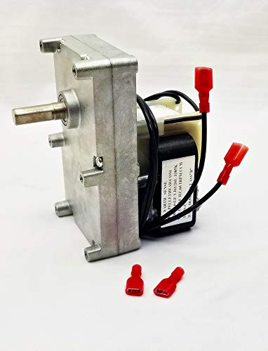 Pellethead Englander Pellet Stove 1RPM Auger Motor PU-047040 PH-CCW1 England Stove Works Auger Feed Motor - Top and Bottom Auger Motor