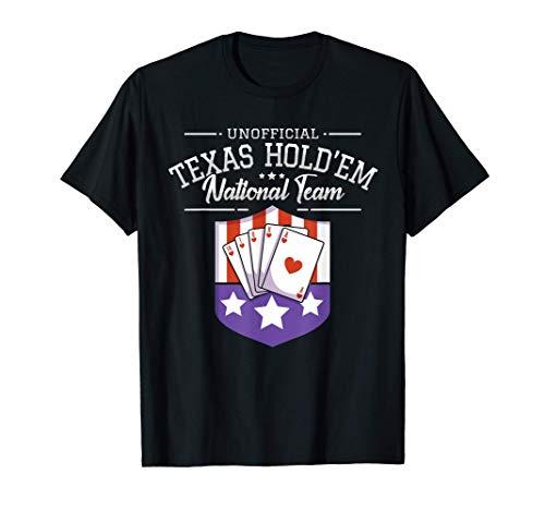 Poker Spieler Poker-Karten Spiel I Texas Hold'em Mannschaft T-Shirt
